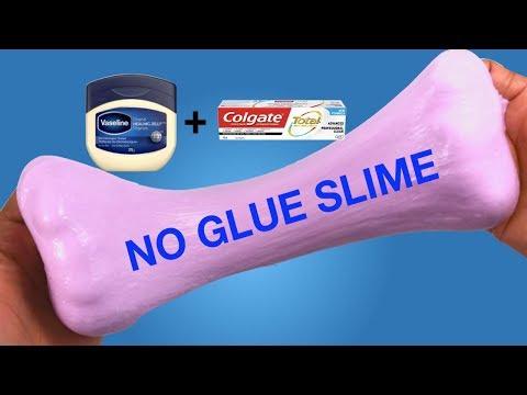 How To Make Slime|| No Glue No Borax Slime|| DIY Vaseline & Toothpaste Slime