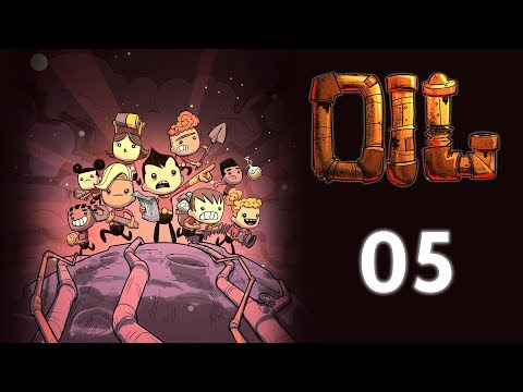 Moderne Toiletten + das neue Projekt (05) Oxygen Not Included Gameplay Deutsch - Oil Upgrade