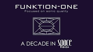 FUNKTION-ONE - A DECADE IN SPACE