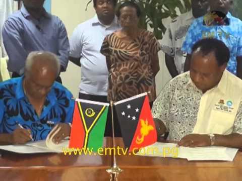 PNG Gives To Vanuatu