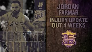 Lakers Injury Update: Jordan Farmar Tears Hamstring, Pau Gasol MRI Shows Ankle Sprain