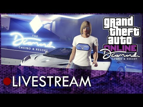 GTA Online Casino DLC Gameplay Livestream Featuring The New Casino, Cars, Missions And More!