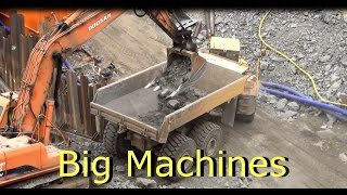 Big Machines at work in Tampere Finland
