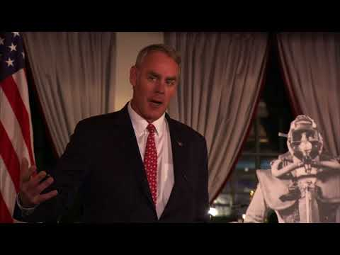 The Hon. Ryan Zinke Speaking at the 75th Anniversary of the First SEALs