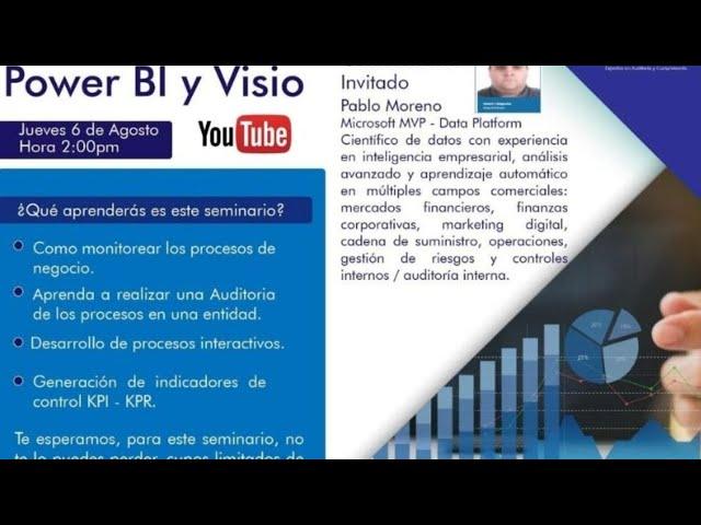 Control Interno de procesos con Power BI y Visio