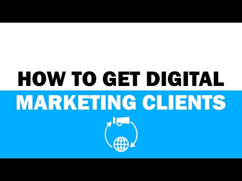 How To Get Digital Marketing Clients 2019 thumbnail