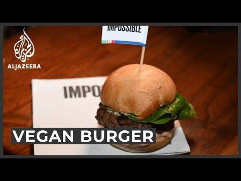 Vegan meat revolution could help solve global warming