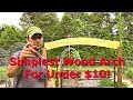 How To Make The Easiest Wooden Garden Gate Arch Inexpensively!