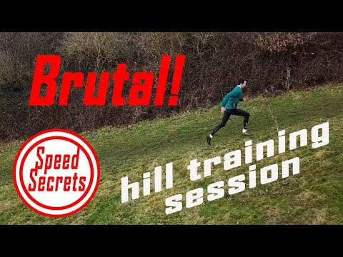 Brutal!! Vo2max boosting HILL SPRINTS for runners
