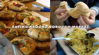 Eating Through Borough Market + London Korean Food 🤤 | Vlogust Day 21