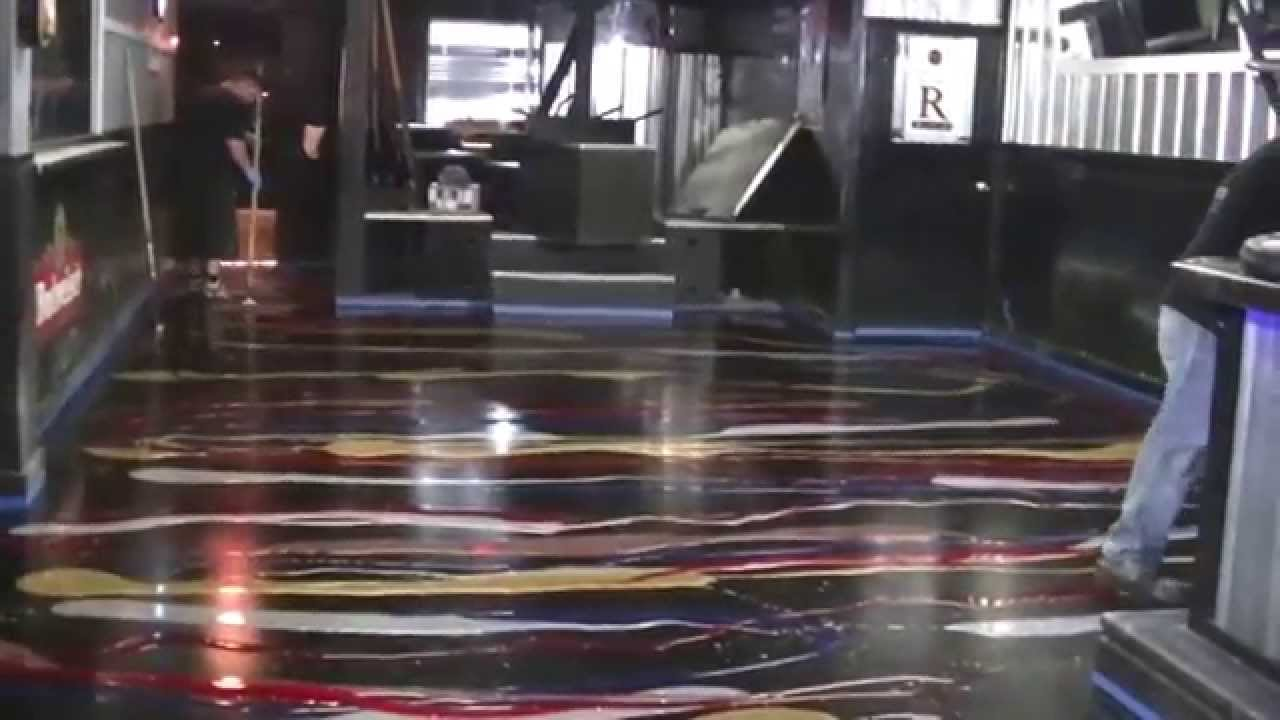Glitter epoxy floor in ohio pouring the glitter on the concrete glitter epoxy floor in ohio pouring the glitter on the concrete floor youtube solutioingenieria Choice Image