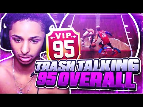 TRASH TALKING 95 OVERALL WANTS TO FIGHT AFTER BREAKING HIS ANKLES 10 TIMES NBA 2K19 (MUST WATCH)