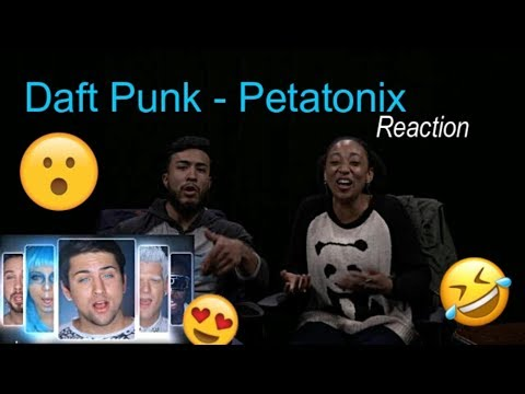 BEST Daft Punk - Pentatonix REACTION