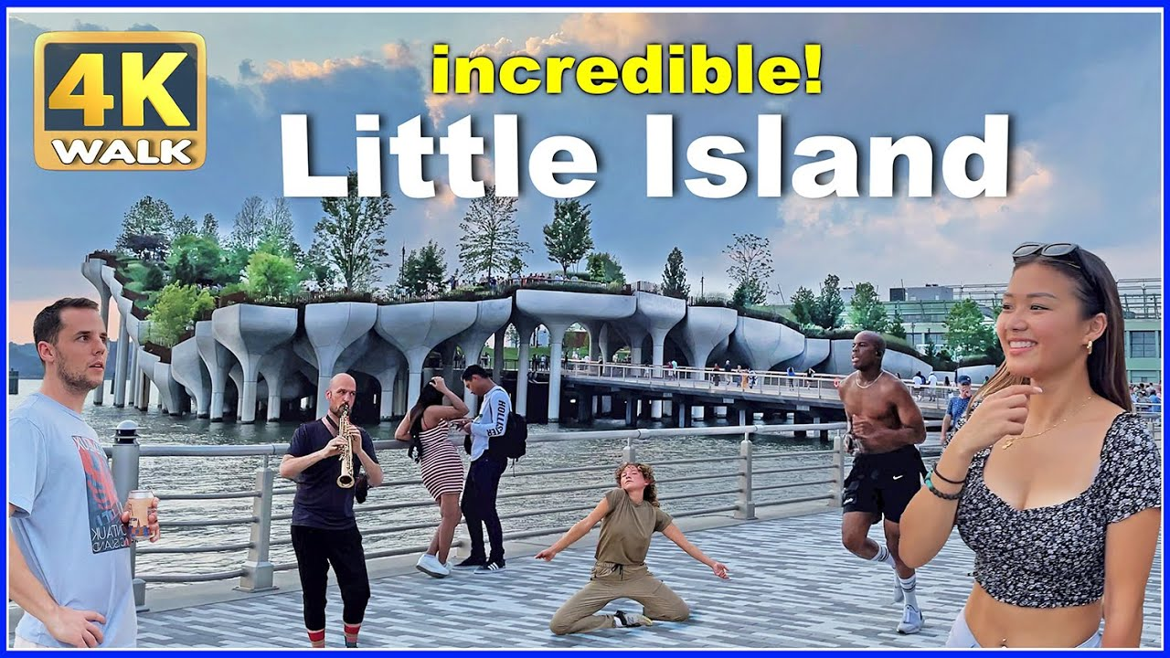 Download 【4K】WALK Little Island Park NEW YORK City USA NY Travel vlog