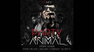 Charly black Ft  Maluma, Daddy yankee, Farruko Y El Boy C - Party Animal Remix