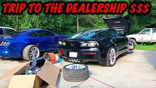 Download Rebuilding A Wrecked 2017 Corvette Z06 Part 3 Mp3 and Videos