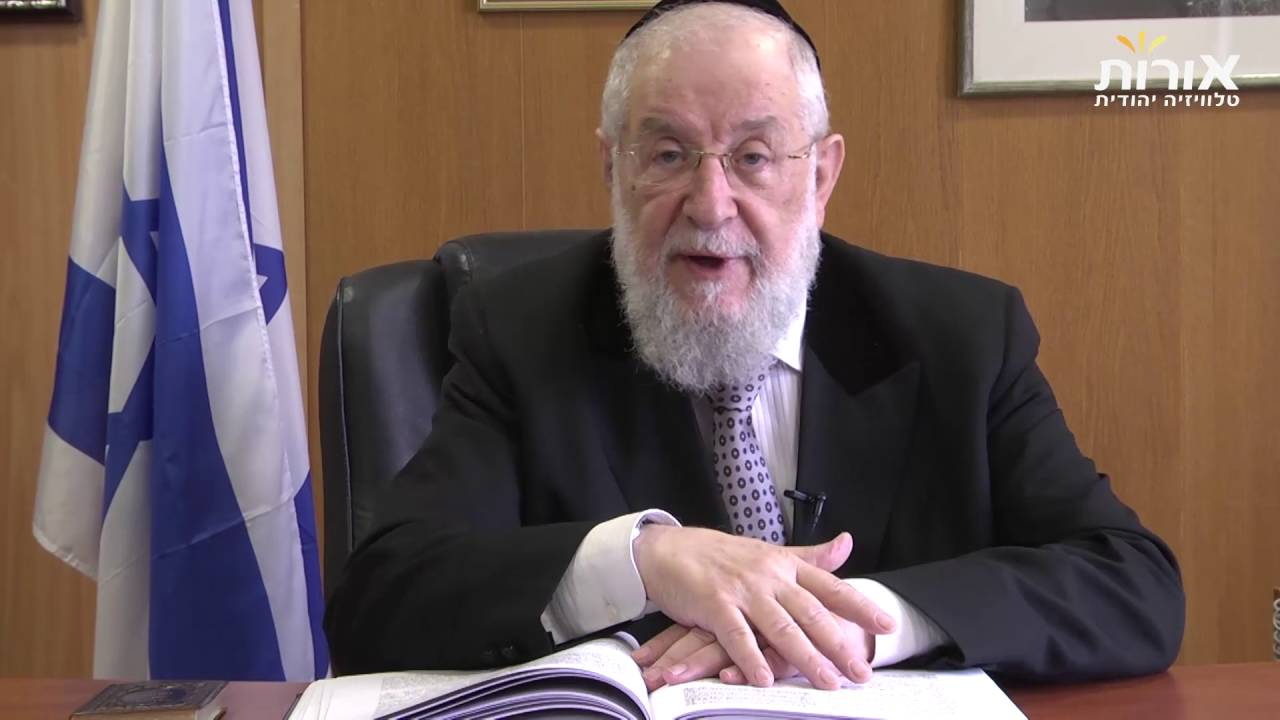 Perhaps you don't have a part in the land of Israel? Rabbi Lau on Parashat Shlach