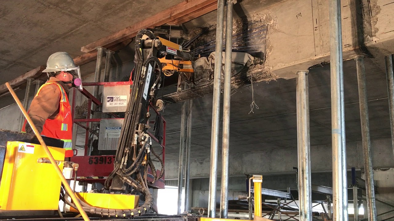 Robotic Overhead Concrete Demolition and Repair