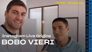THE ORIGINS OF BOBO VIERI'S LIVE CHATS on INSTAGRAM! 🤣⚫🔵🎤 | INTER 2000/01 [SUB ENG + ITA]