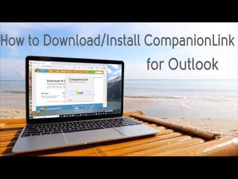 How To Install CompanionLink For Outlook - Sync Outlook With Android