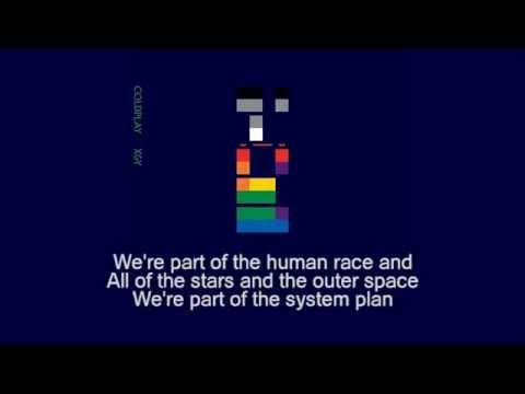 Coldplay - White Shadows (instrumental + lyrics)