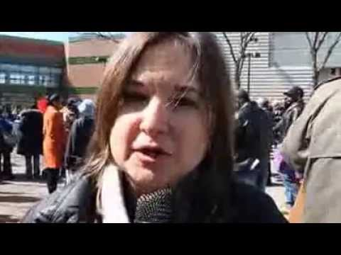 Harlem Girls Fight For More Ice