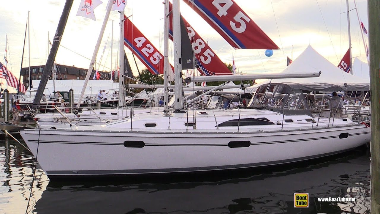 2017 Catalina 445 Sailing Yacht - Deck and Interior Walkaround - 2017  Annapolis Sail Boat Show
