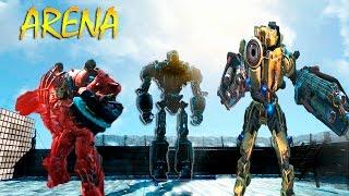 Fallout 4 Бой сильнейших Либерти Прайм и Легендарный штурматрон доминатор Арена