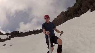 A Proper Summer Backcountry Ski Run