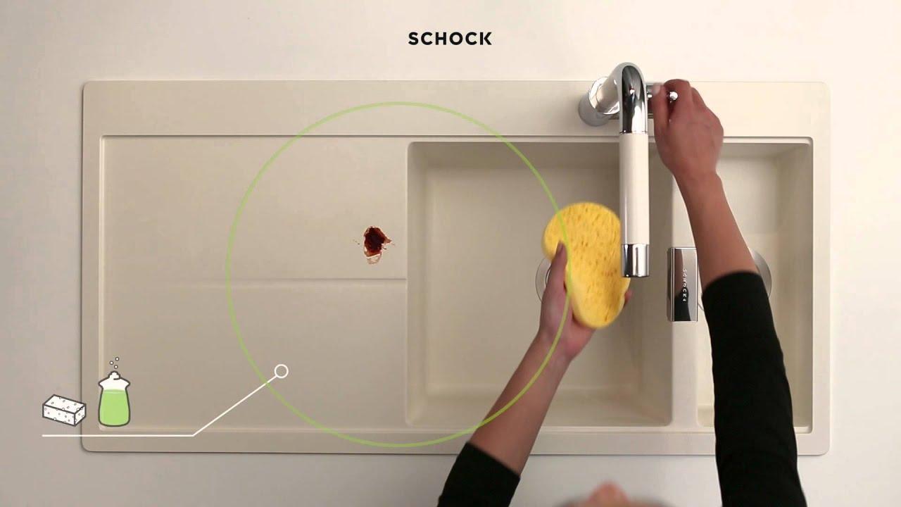 wie reinige ich meine schock sp le richtig youtube. Black Bedroom Furniture Sets. Home Design Ideas