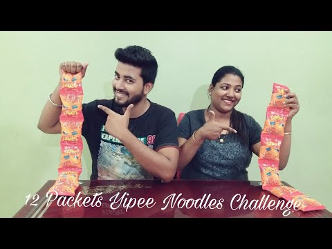 Fastest Yippee Noodles Eating Challenge / Chowmin challenge / Yummy / Maggi