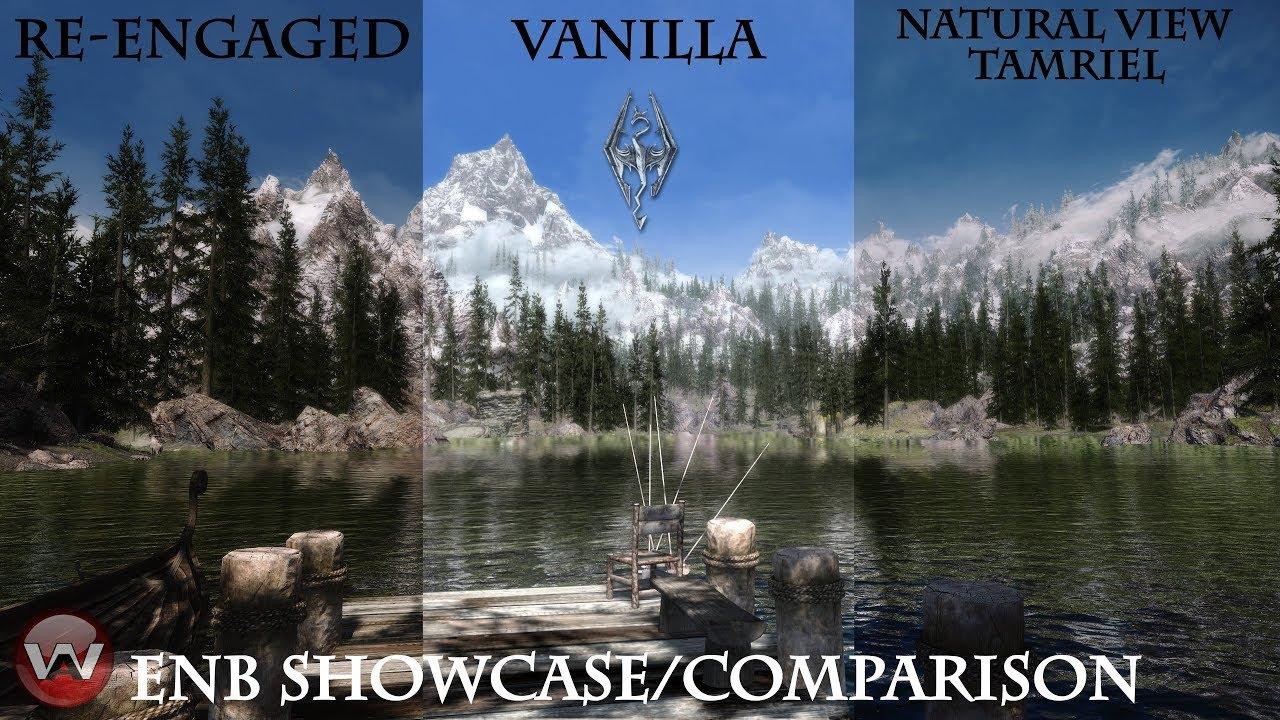 Skyrim enhanced vanilla trees