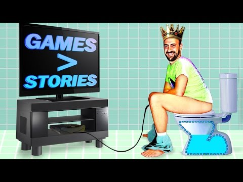 Things I hate about modern gaming: stories