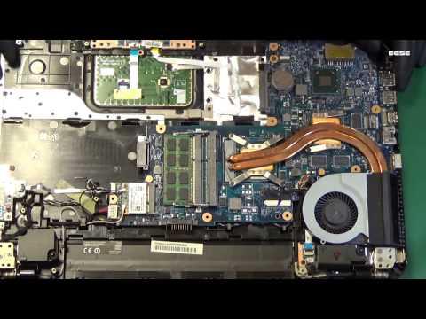 Toshiba L850 naprawa układu grafiki/graphic chip repair