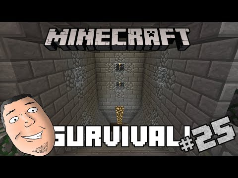 Minecraft Survival #25 | Beginning Our New Storage!