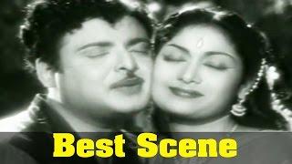 Hello Mr Zamindar Movie : Savitri, And Gemini Ganesan, Love Scene