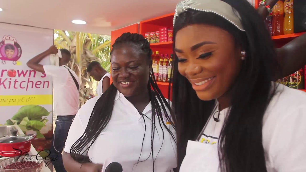 Behind The Scenes with Akua Ghana's Most Beautiful | McBrown's Kitchen