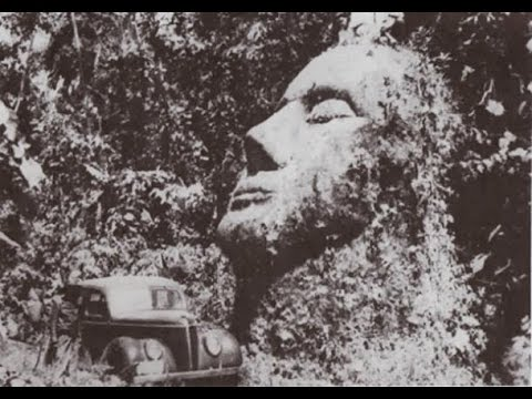 Ancient Unknown Giant Stone Head Of Guatemala - Ancient History Mysteries