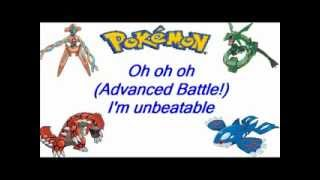 Pokemon Advanced Battle: Unbeatable Theme Song + Lyrics