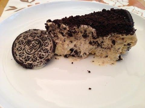 Tarta Helada de Galletas Oreo