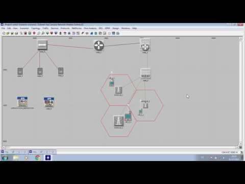 Simulación del proceso de Handover en una red UMTS (3G) en OPNET