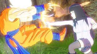 Hinata Hyuga Trong Naruto Vào Dragon Ball Khiêu Chiến Goku Và Broly - Dragon Ball XV2 Tập 175