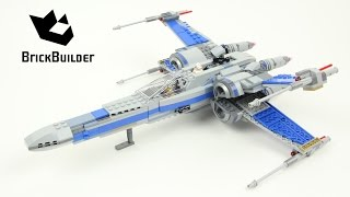 Lego Star Wars 75149 Resistance X-wing Fighter - Lego Speed Build