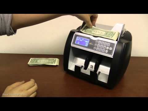 Royal Sovereign RBC-5000 High Speed Bill Counter