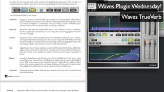 Waves TrueVerb - Waves Plugin Wednesday!