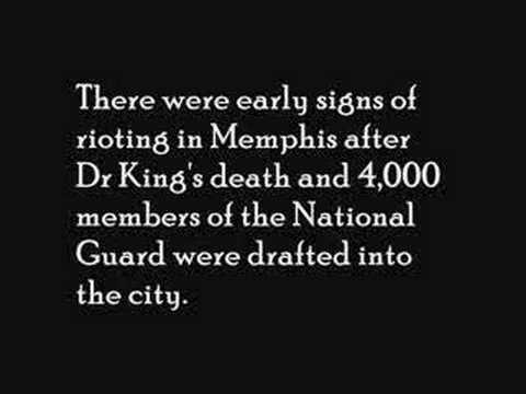Assassination of Dr. King