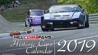PURE SOUND of Historic Car Hill Climb Calendar 2019