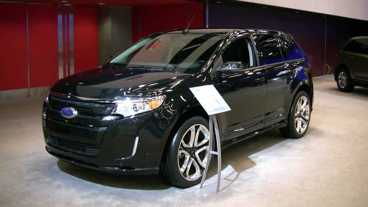 2012 Ford Edge Sport Awd Exterior And Interior At 2012