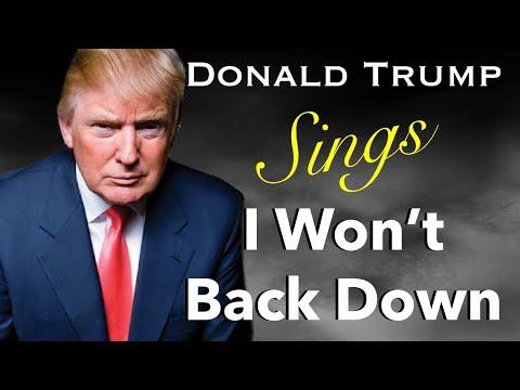"Trump Sings ""I Won't Back Down"" By Tom Petty"