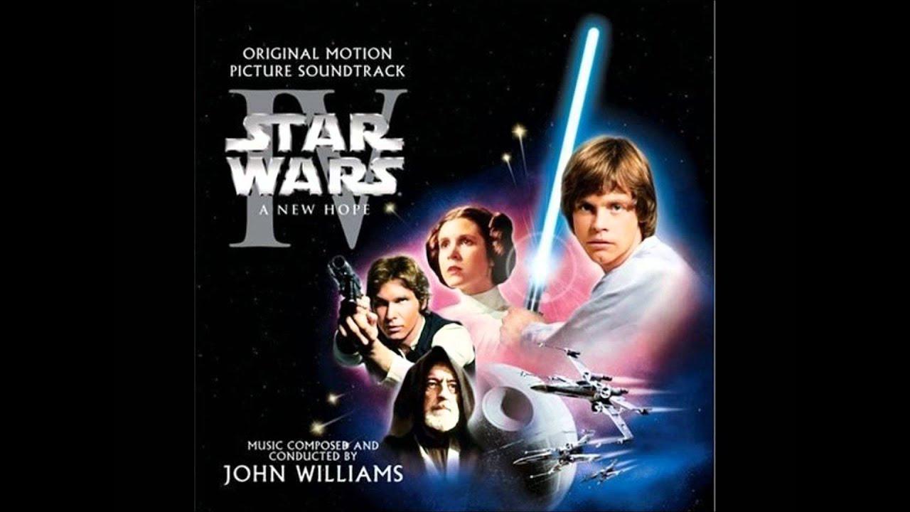Star Wars Iv A New Hope Princess Leias Theme Youtube